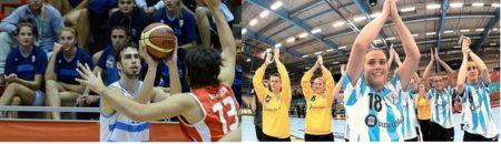 basquet . voley