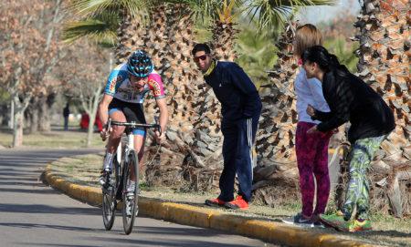 Mendoza, 06-08-16. En el marco de los Juegos Nacionales Evita, se disputaron competencias de ciclismo, en el Parque Metropolitano de Maip